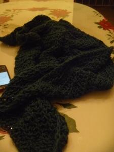 frogged yarn