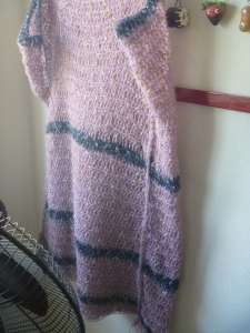 crochet dress so far