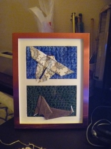 origami and crochet