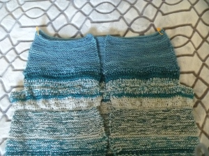 top of sweater body