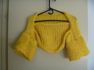 yellow shrug