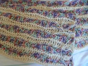 shawl/wrap up close