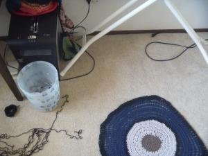 redoing circles rug
