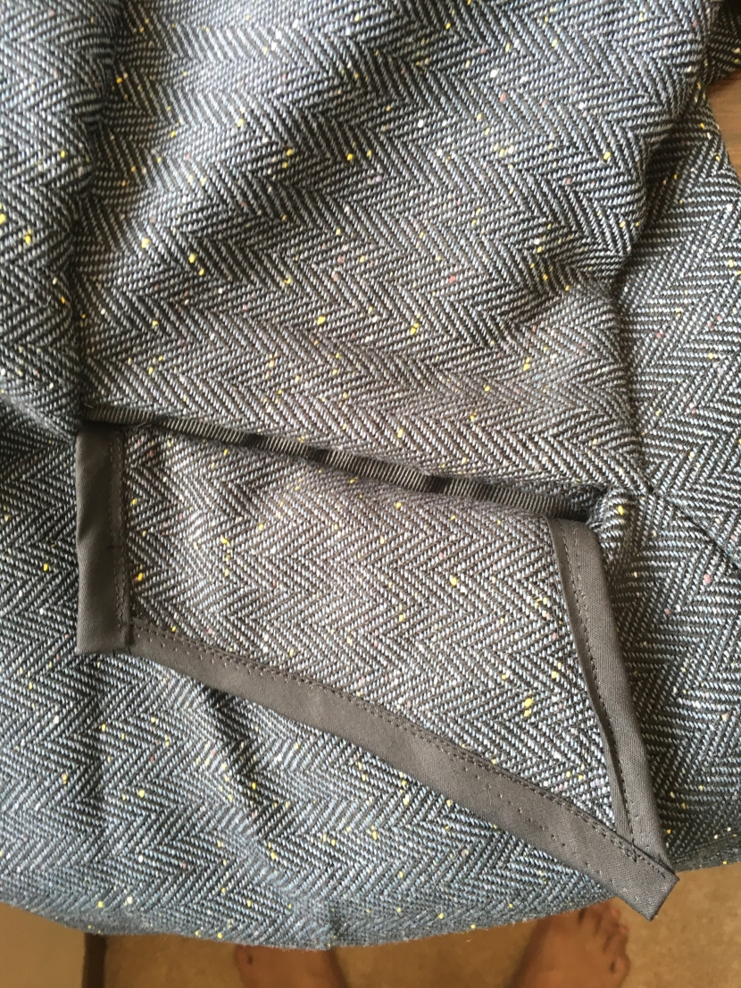pocket outside of jacket