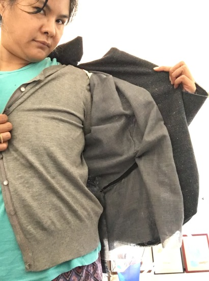 inside the jacket