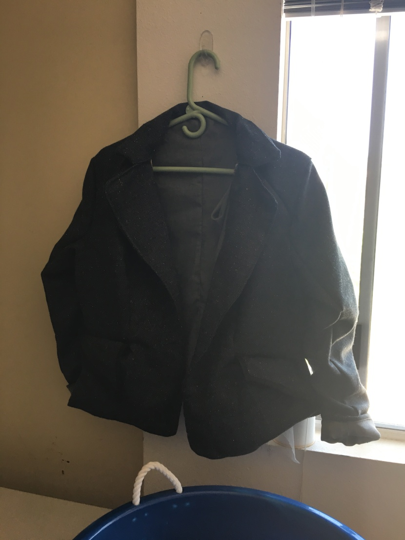 jacket without buttons
