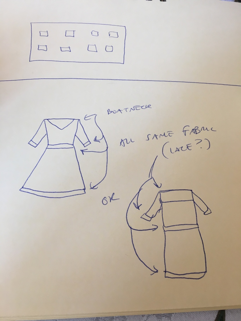 original dress sketches