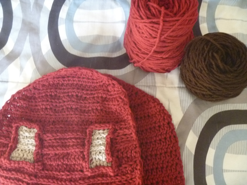 earlier, both yarns to be used