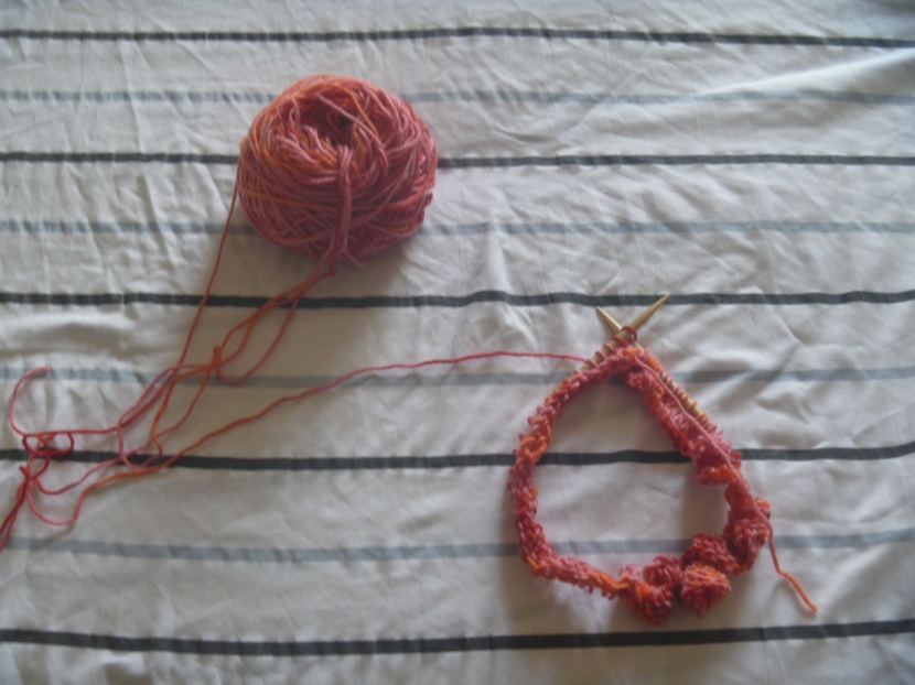 circular knitting project