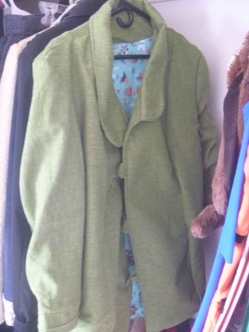 coat in closet