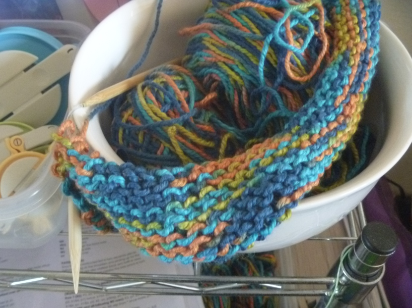 knit piece for top