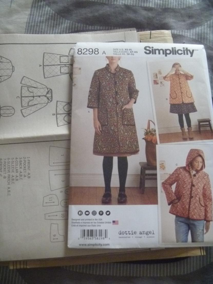 simplicity pattern 8298