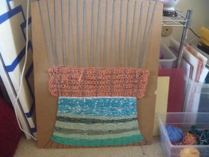 medium sized weaving project