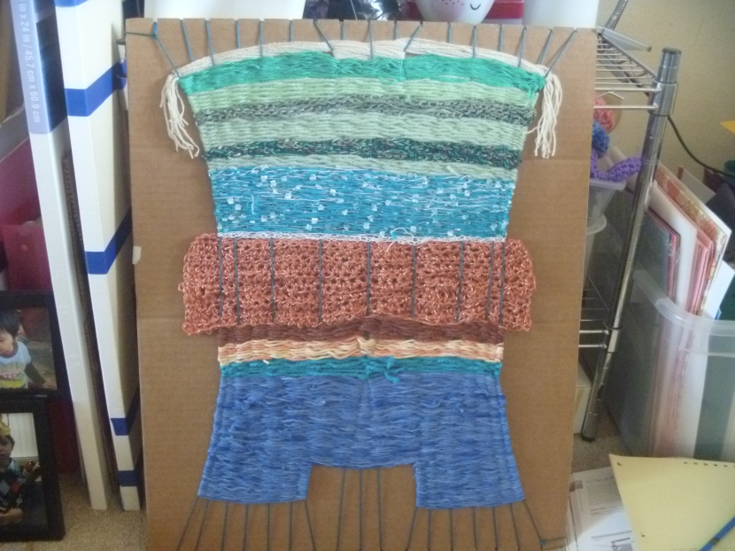 progress on weaving project
