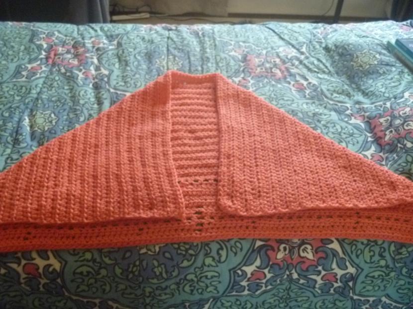 crochet shawl or something
