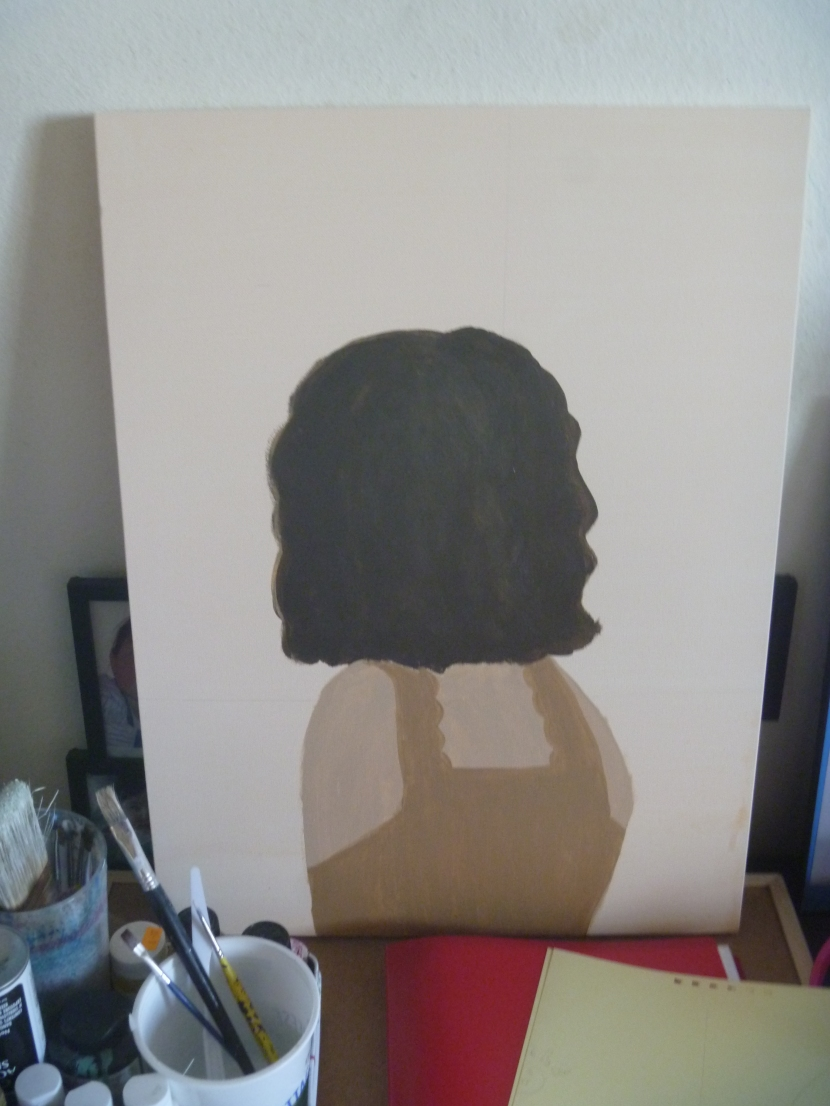 painting in progress