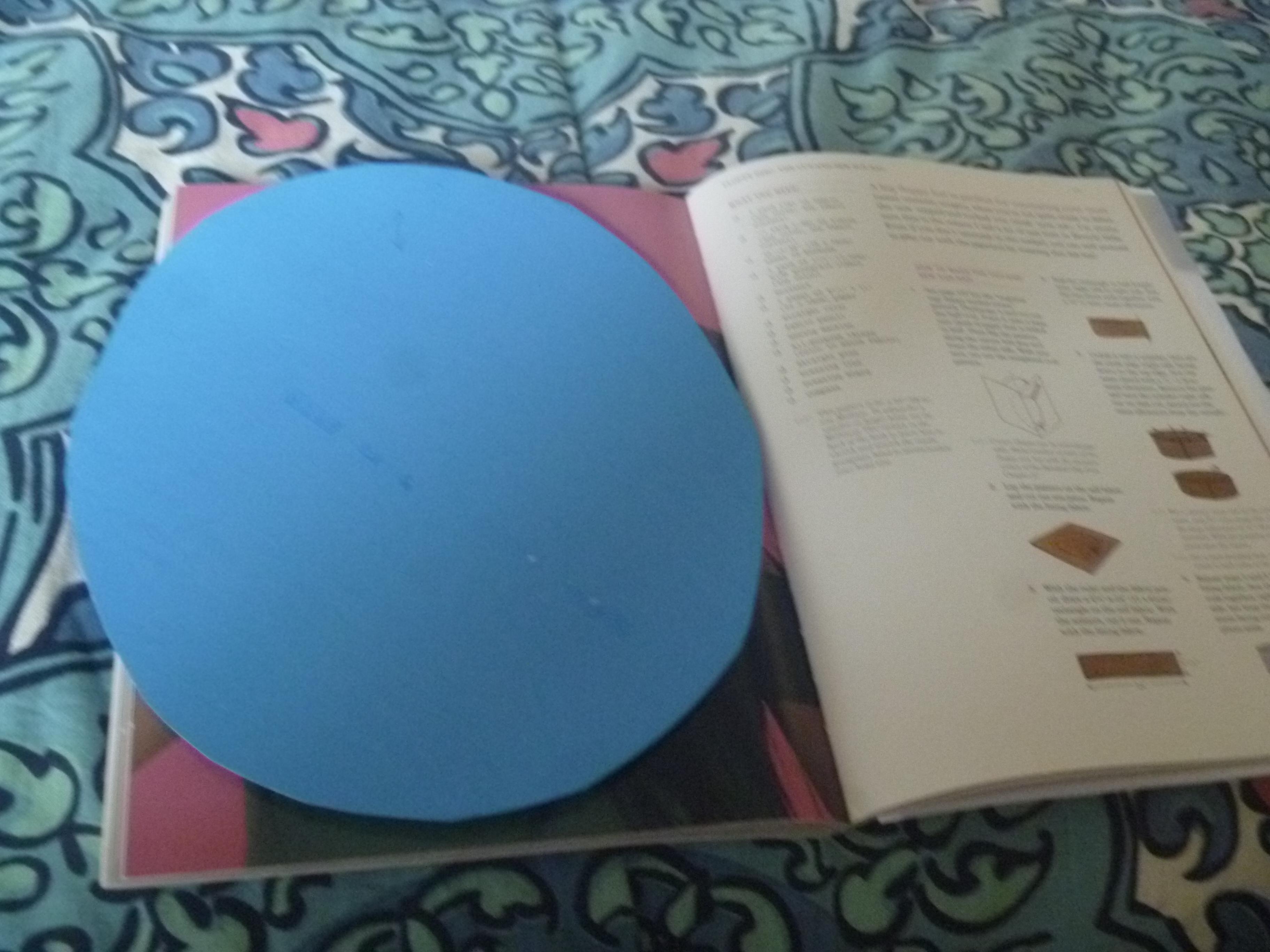 circular pattern piece