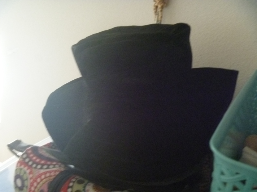 finished black hat