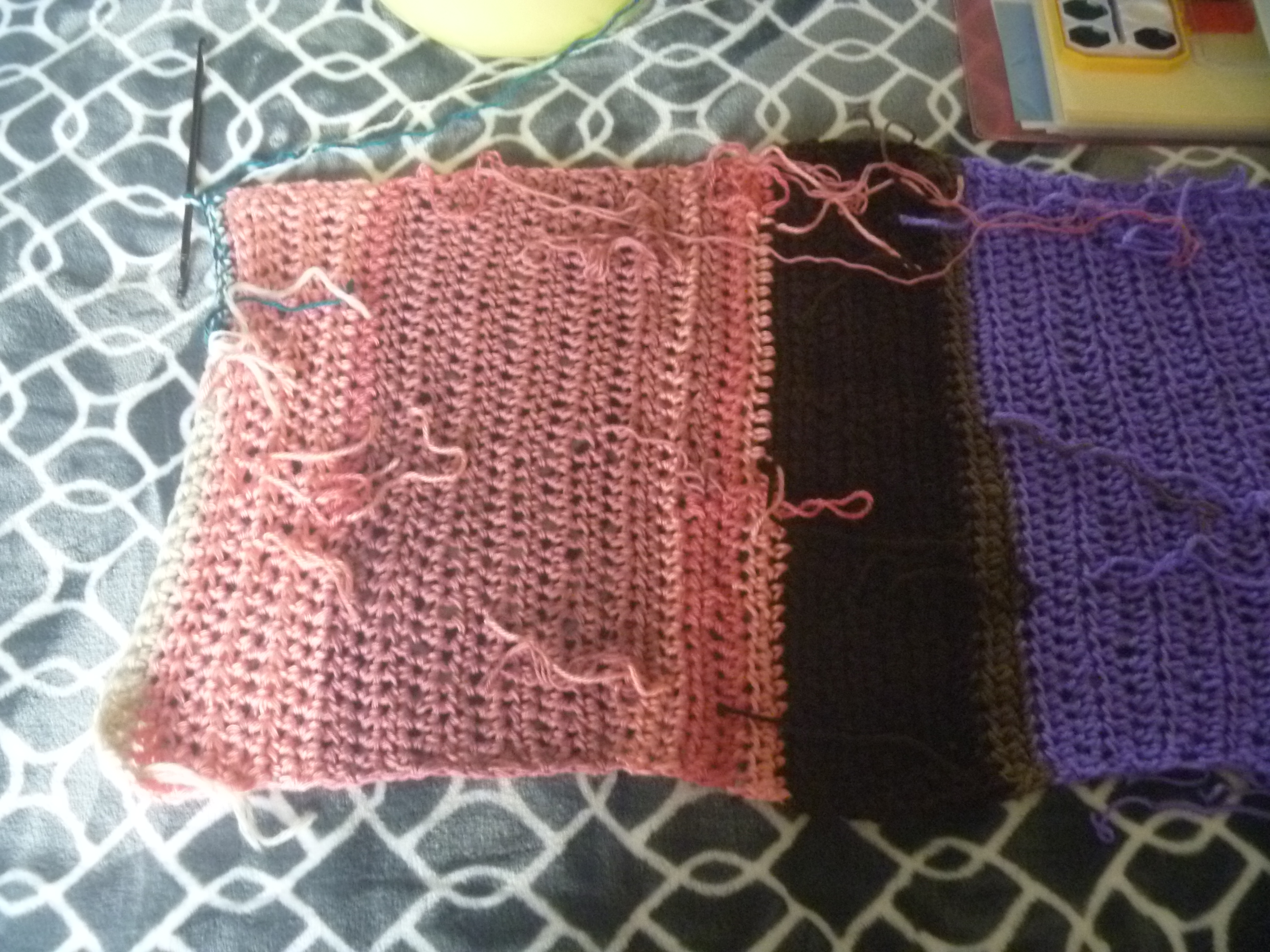 scrap blanket or shawl