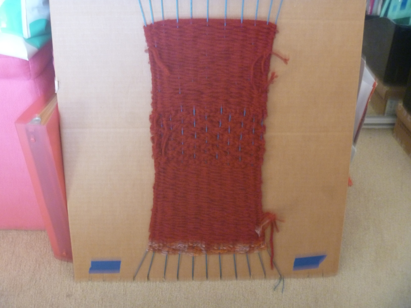 red weaving
