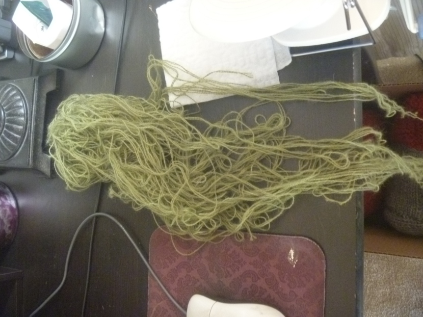 yarn still to untangle