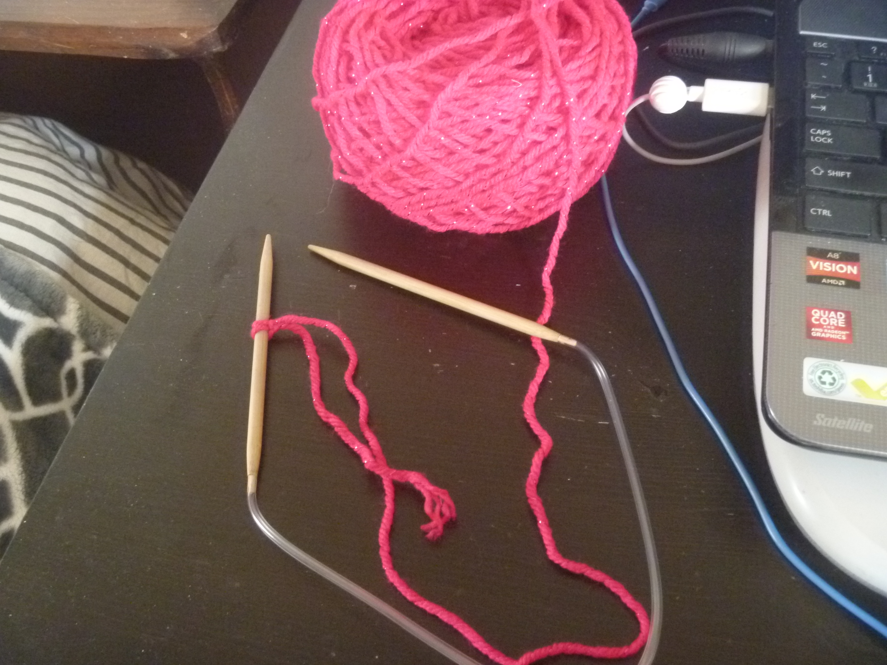 start of anotherknitting project